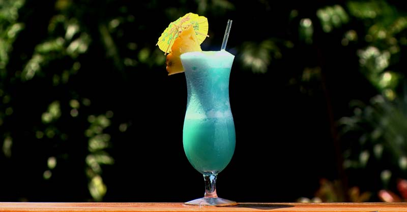 cocktail Blue Hawaiian Colada