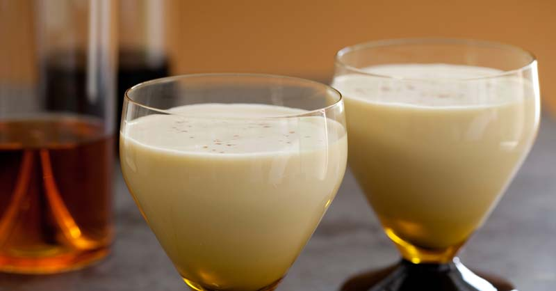 cocktail Brandy Egg Nog
