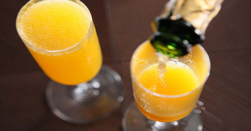 cocktail Buck's fizz
