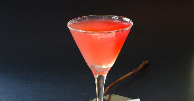 coctel Brandy Rose