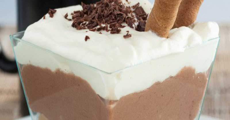 yogurt griego con chocolate