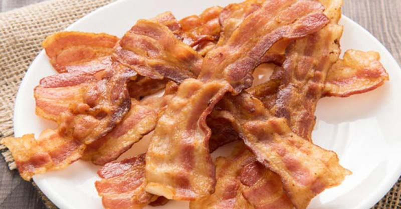 Bacon crujiente perfecto