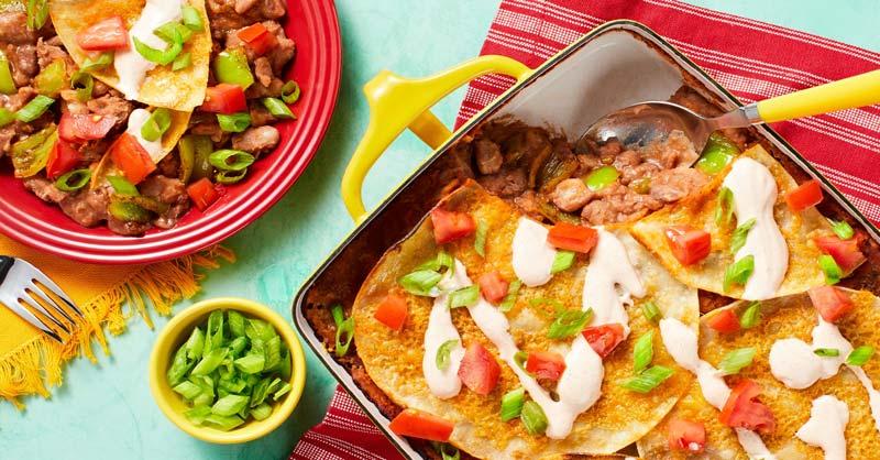 tacos mexicanos con aderezo