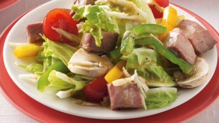 ensaladas para carne asada